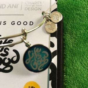 Life is good Alex and Ani like new